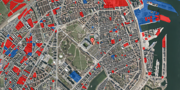 Jordforureningskort på Øster Allé 48, 1. , 2100 København Ø