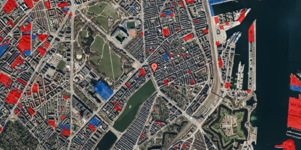 Jordforureningskort på Østerbrogade 19, st. 1, 2100 København Ø