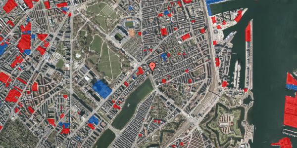 Jordforureningskort på Østerbrogade 19, 1. 2, 2100 København Ø