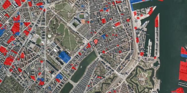 Jordforureningskort på Østerbrogade 21, 4. th, 2100 København Ø