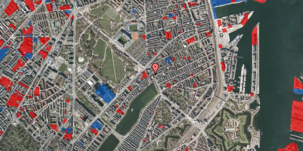 Jordforureningskort på Østerbrogade 23, st. , 2100 København Ø