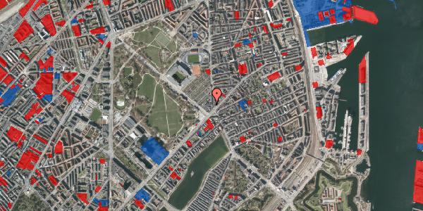 Jordforureningskort på Østerbrogade 35, st. 4, 2100 København Ø