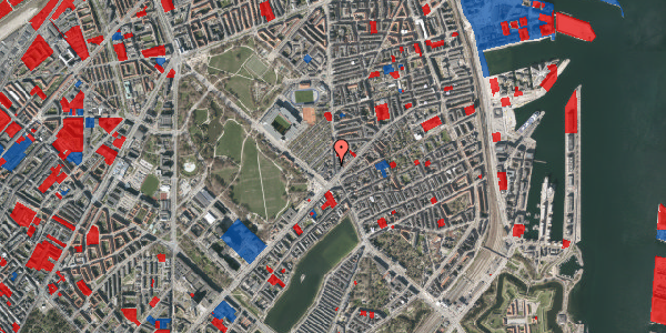 Jordforureningskort på Østerbrogade 39, 2. tv, 2100 København Ø