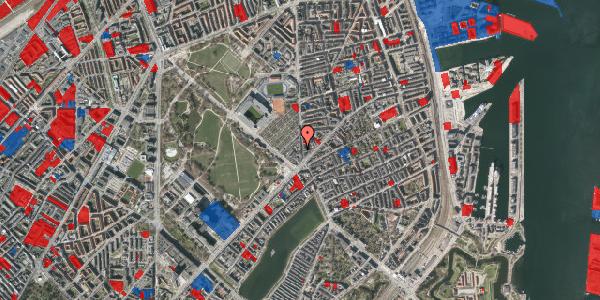 Jordforureningskort på Østerbrogade 41, st. th, 2100 København Ø