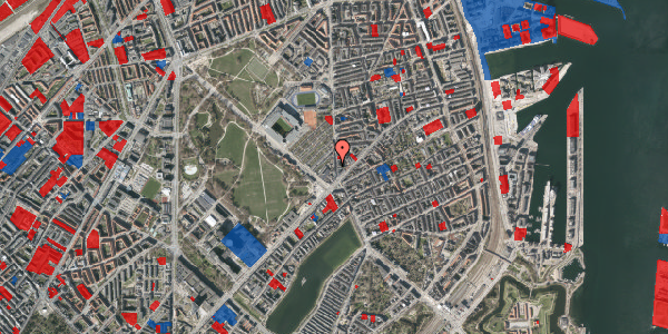 Jordforureningskort på Østerbrogade 41, 4. tv, 2100 København Ø