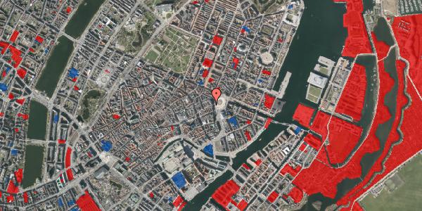 Jordforureningskort på Østergade 4, 3. , 1100 København K