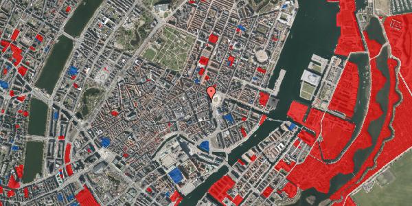 Jordforureningskort på Østergade 6, 1. , 1100 København K