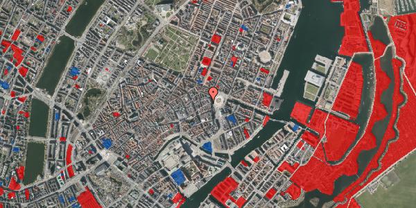 Jordforureningskort på Østergade 8, 3. , 1100 København K