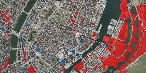 Jordforureningskort på Østergade 14, 1. , 1100 København K