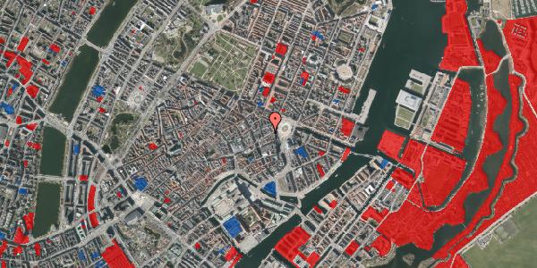 Jordforureningskort på Østergade 14, 4. , 1100 København K
