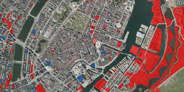 Jordforureningskort på Østergade 16A, 4. tv, 1100 København K