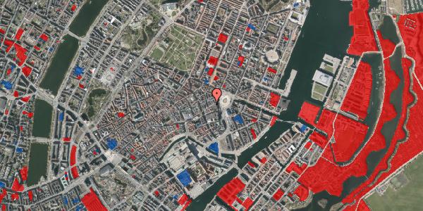 Jordforureningskort på Østergade 16, kl. 3, 1100 København K