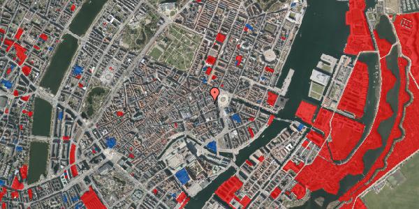 Jordforureningskort på Østergade 16, 3. th, 1100 København K