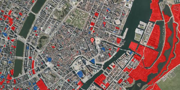 Jordforureningskort på Østergade 17, 3. tv, 1100 København K