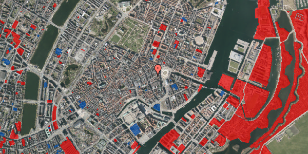 Jordforureningskort på Østergade 18, 1. mf, 1100 København K