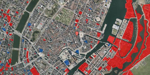 Jordforureningskort på Østergade 22, st. tv, 1100 København K