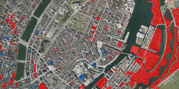 Jordforureningskort på Østergade 24C, 3. 2, 1100 København K