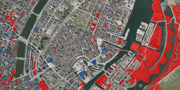 Jordforureningskort på Østergade 26A, st. 4, 1100 København K