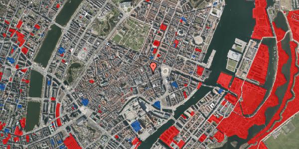 Jordforureningskort på Østergade 26B, 1. , 1100 København K
