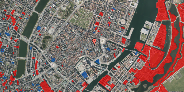 Jordforureningskort på Østergade 32, 1. , 1100 København K