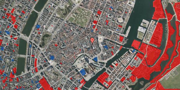 Jordforureningskort på Østergade 33, 3. , 1100 København K