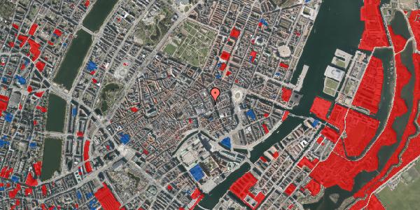 Jordforureningskort på Østergade 36A, 4. tv, 1100 København K
