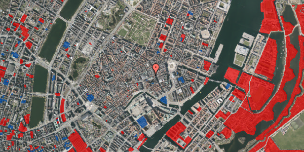 Jordforureningskort på Østergade 40, 4. , 1100 København K