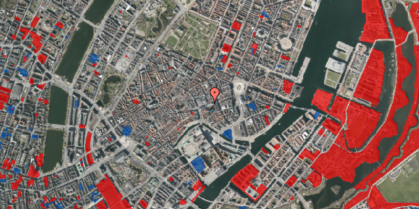 Jordforureningskort på Østergade 47, st. tv, 1100 København K