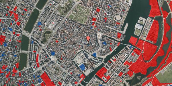 Jordforureningskort på Østergade 53, 1. , 1100 København K