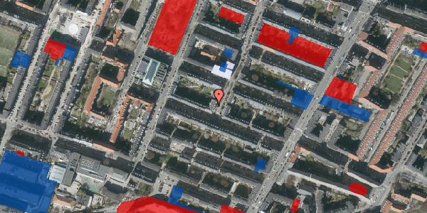 Jordforureningskort på Adilsvej 16, 1. tv, 2000 Frederiksberg