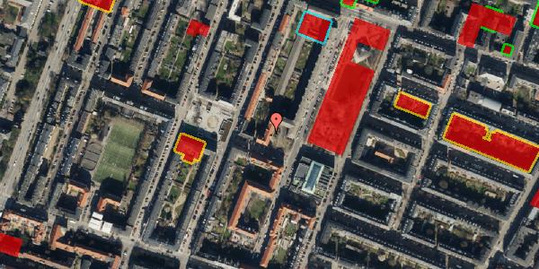 Jordforureningskort på Aksel Møllers Have 32, 3. th, 2000 Frederiksberg