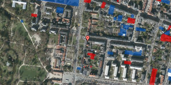 Jordforureningskort på Allegade 14, 1. th, 2000 Frederiksberg