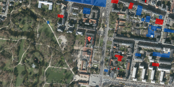 Jordforureningskort på Allegade 15B, 1. th, 2000 Frederiksberg