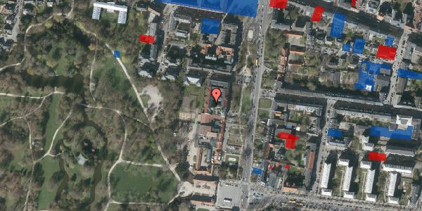Jordforureningskort på Allegade 15B, 2. th, 2000 Frederiksberg
