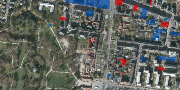 Jordforureningskort på Allegade 15C, 4. th, 2000 Frederiksberg