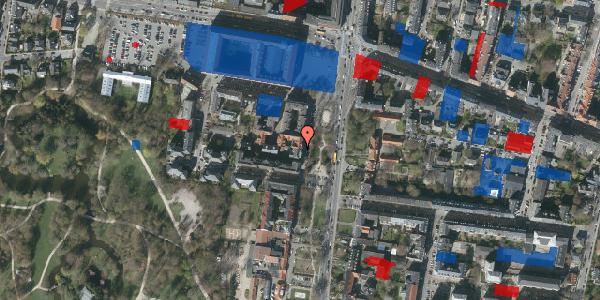 Jordforureningskort på Allegade 23, kl. th, 2000 Frederiksberg