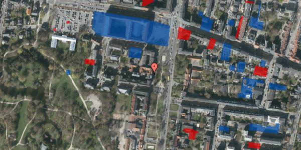 Jordforureningskort på Allegade 23, 1. , 2000 Frederiksberg