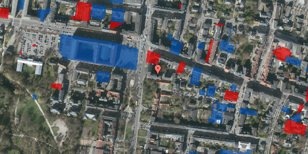 Jordforureningskort på Allegade 24B, 2. th, 2000 Frederiksberg