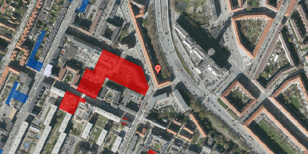 Jordforureningskort på Ane Katrines Vej 6, 4. th, 2000 Frederiksberg