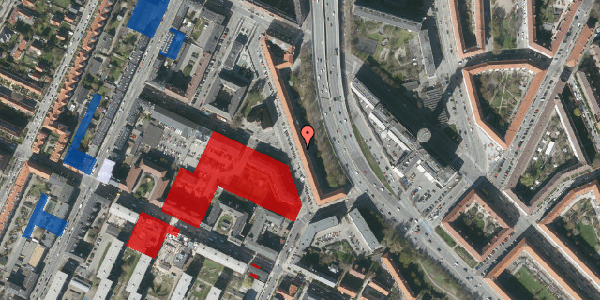 Jordforureningskort på Ane Katrines Vej 14, 2. 4, 2000 Frederiksberg