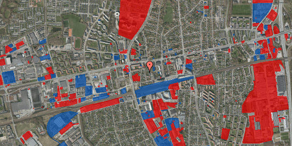 Jordforureningskort på Asylvej 9, st. , 2600 Glostrup
