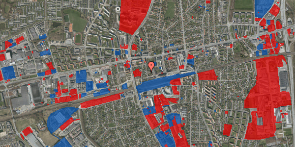 Jordforureningskort på Asylvej 35, st. , 2600 Glostrup