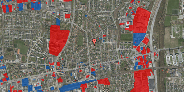 Jordforureningskort på Birke Alle 17, 2600 Glostrup