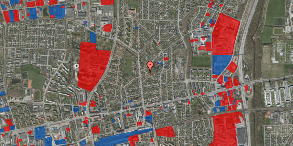 Jordforureningskort på Birke Alle 22, 2600 Glostrup