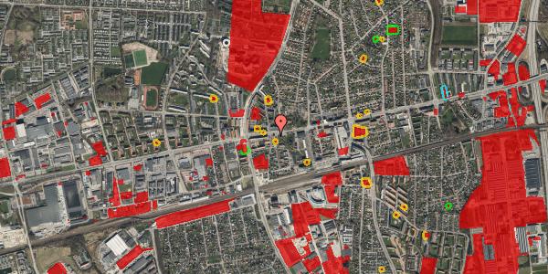 Jordforureningskort på Bryggergårdsvej 1A, 2. 8, 2600 Glostrup