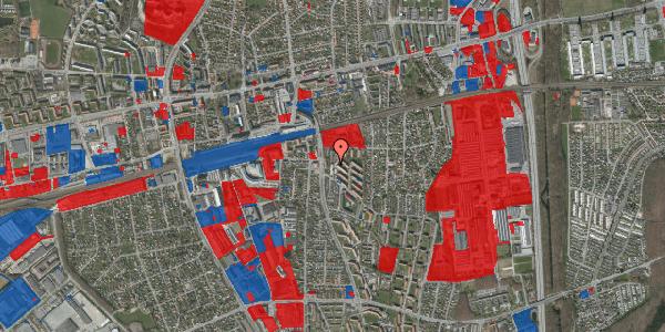 Jordforureningskort på Brøndbyvestervej 9, 1. th, 2600 Glostrup