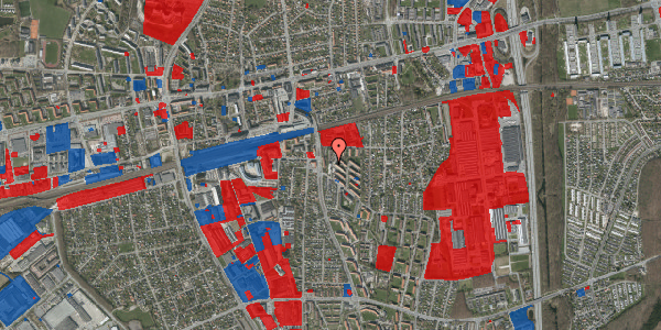 Jordforureningskort på Brøndbyvestervej 9, 1. tv, 2600 Glostrup