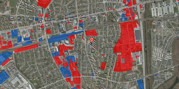 Jordforureningskort på Brøndbyvestervej 21, st. tv, 2600 Glostrup