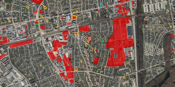 Jordforureningskort på Brøndbyvestervej 35, 1. th, 2600 Glostrup