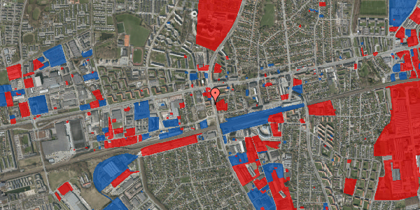 Jordforureningskort på Christiansvej 17, st. mf, 2600 Glostrup